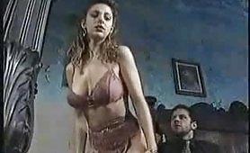 Arrapante scena di sesso a tre vintage