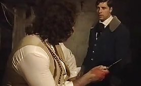 Scena porno vintage ripresa dal film italiano Dracula