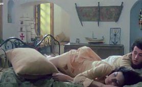 Scena vintage ripresa dal film italiano L'insegnante